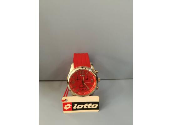 Lotto Wrist Watch CHRONO FIG/RED EYES RED PU
