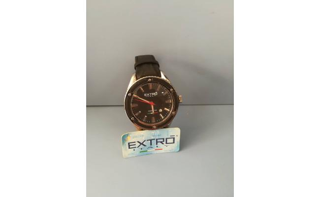 EXTRO Wrist Watch ANAG BLACK CLOUD LEATHER