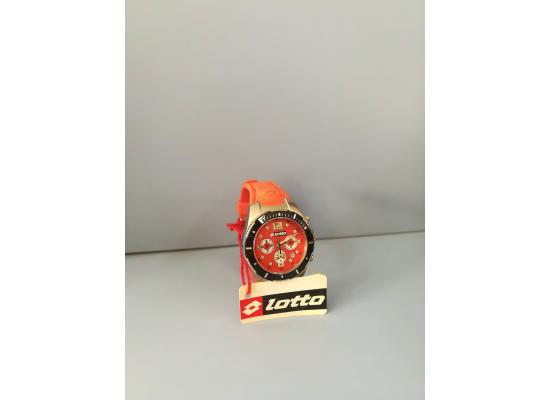 Lotto Wrist Watch CHRONO FIG/SILV EYES RED