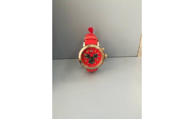 Clay Regazoui CHRONO  EYES RED LEATH