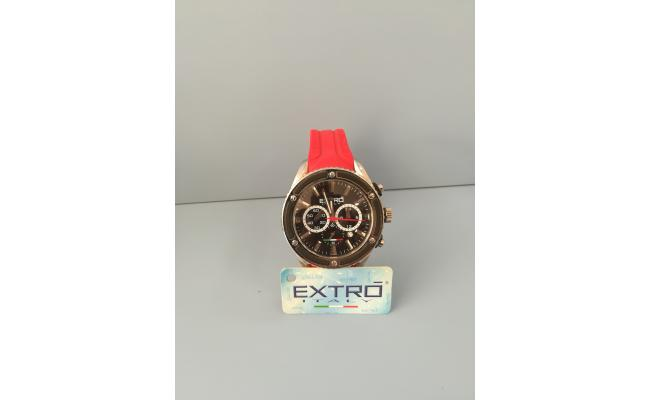 EXTRO Wrist Watch IDX BLACK SILICON BAND