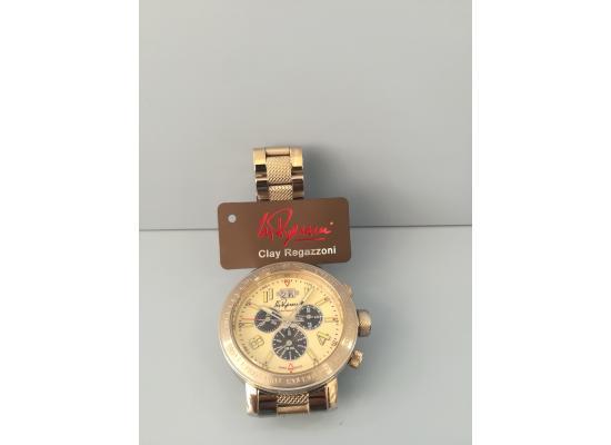 Clay Regazzoni Wrist Watch CHRONO ARB FIG/BLK EYES