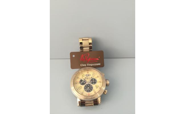 Clay Regazzoni Wrist Watch CHRONO ARB FIG/BLK EYES