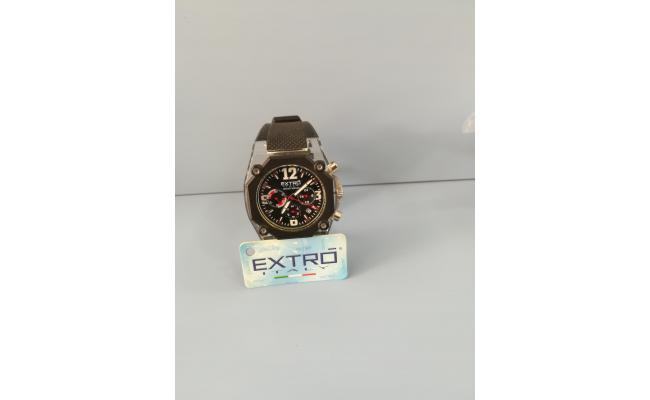 EXTRO Wrist Watch PLASTIC CASE BLK