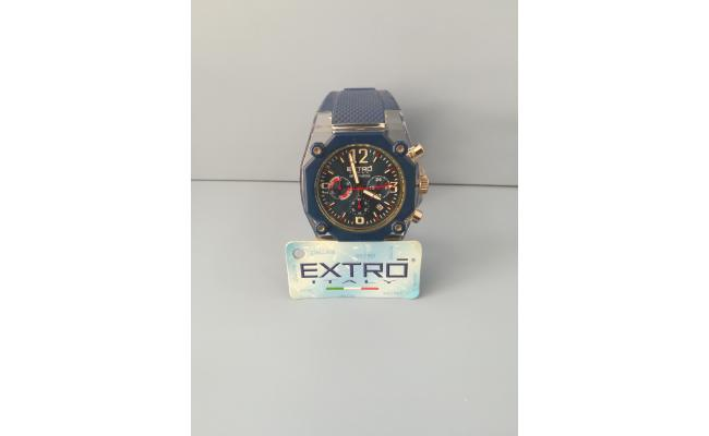 EXTRO Wrist Watch DIAL ARB/FIG LT.BLU SILICON