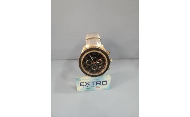 EXTRO Wrist Watch DIAL ARB FIG/BLK EYES SILVER