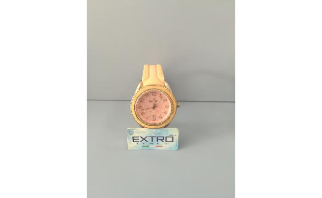 EXTRO Wrist Watch FIG PINK SILICON