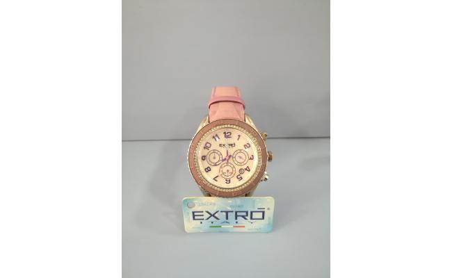 EXTRO Wrist Watch  DIAL ARB FIG/WHT MOP EYES