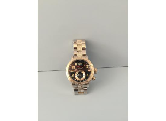 Clay Regazzoni Wrist Watch CASE & BAND BLACK DIAL