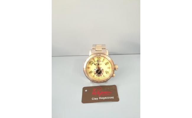 Clay Regazzoni Wrist Watch DUAL TIME