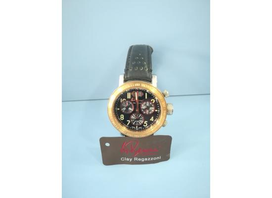 Clay Regazzoni Wrist Watch CHRONO FIG/BLK EYES BLK