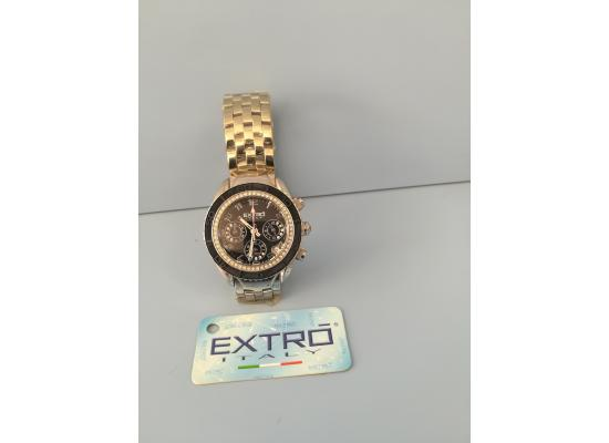 EXTRO Wrist Watch BLACK DIAL/BLK EYES