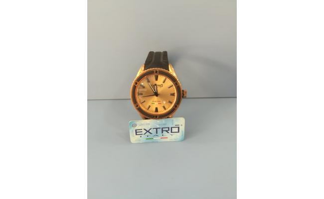 EXTRO Wrist Watch  IDX BLACK SILICON