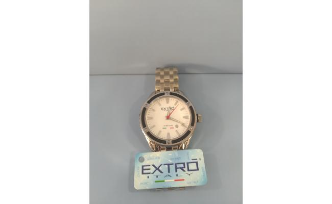 EXTRO Wrist Watch DIAL SILVER IDX