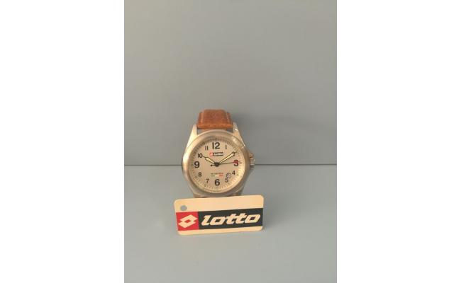 Lotto Wrist Watch BROWN SMOOTH LEATHER