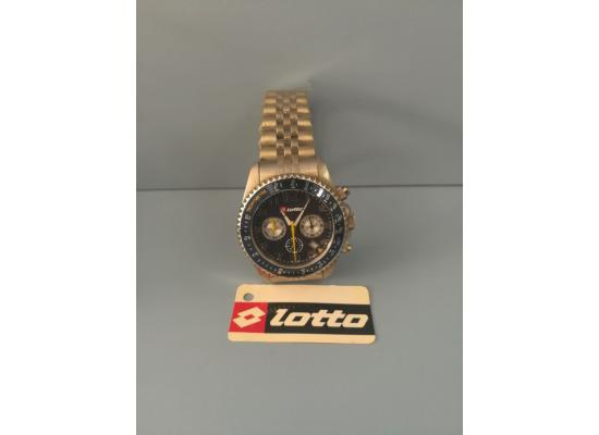 Lotto Wrist Watch BLACK DIAL ARB FIG/SILVER EYE