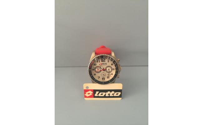 Lotto Wrist Watch SILVER DIAL ARB FIG/SILVER