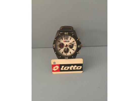 Lotto Wrist Watch IDX/BLK EYES BLK PU LEATH