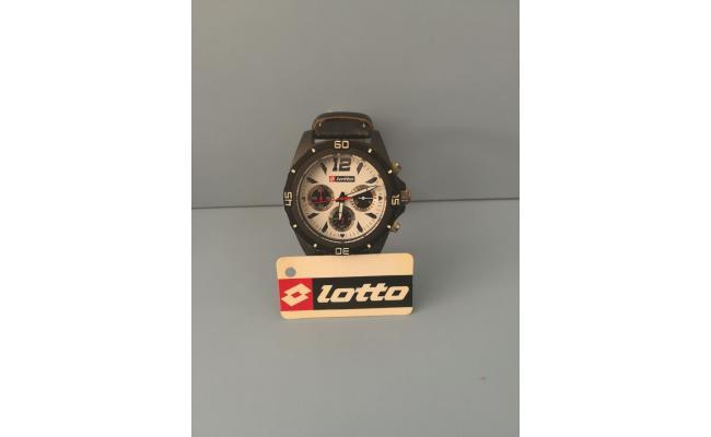 Lotto Wrist Watch IDX/BLK EYES BLK PU LEATH