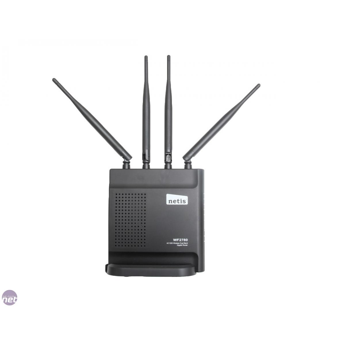 Netis Ac1200 Wireless Dual Band Gigabit Router Wf2780 Smart Wf2409e 300mbps 3 Antena 5dbi