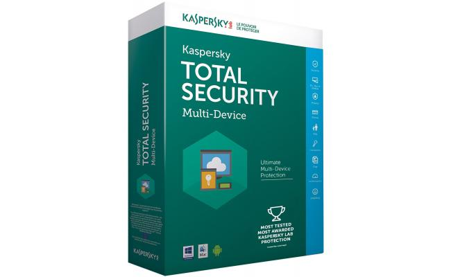 Kaspersky Total Security 3 Users
