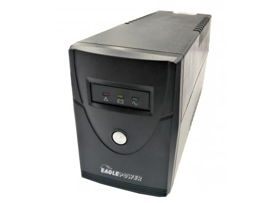 Eagle Power UPS 600VA with UK Plug and Universal Socket