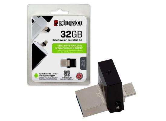 Kingston 32 DataTraveler microDuo USB 3.0 Flash Drive