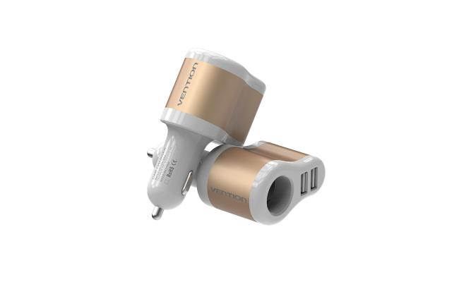 Vention Dual USB Car Charger
