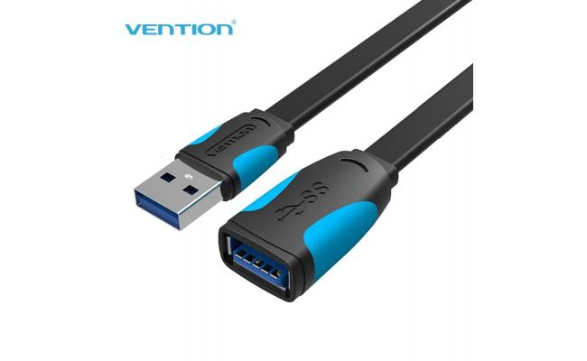 Vention Flat USB3.0 Extension Cable Black