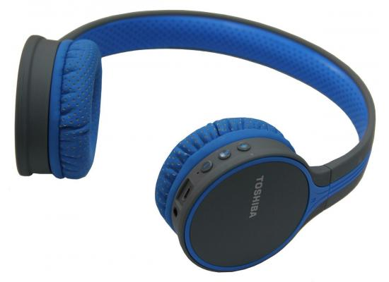 Toshiba Wireless Headphone Blue