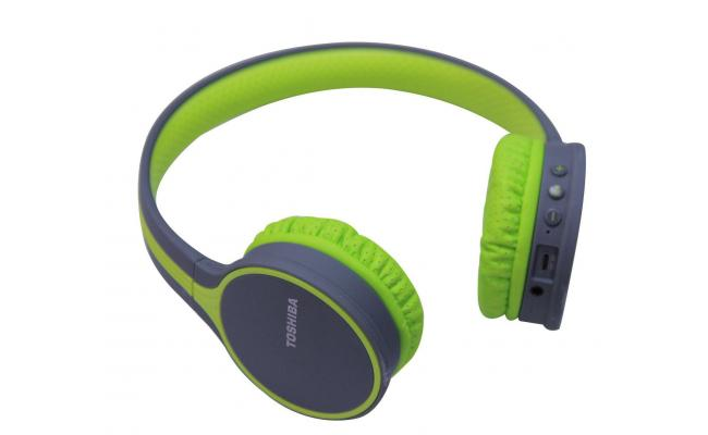Toshiba Wireless Headphone Green