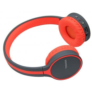 Toshiba Wireless Headphone Red