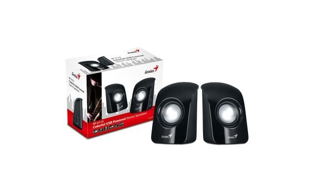 Genius Speaker :SP-U115 BLACK USB POWER