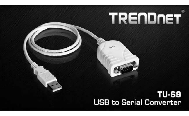 TRENDnet USB to Serial Converter Cable