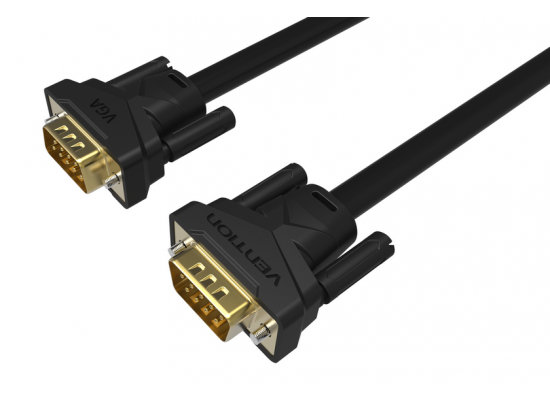 Vention 3+6 VGA Gold Cable with 2 Ferrite Cores