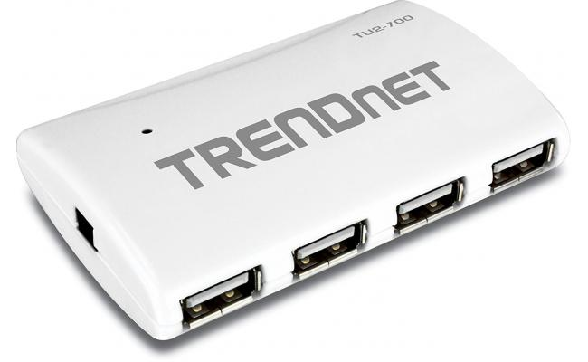 TRENDnet 7 Port Hi-Speed USB 2.0 Hub