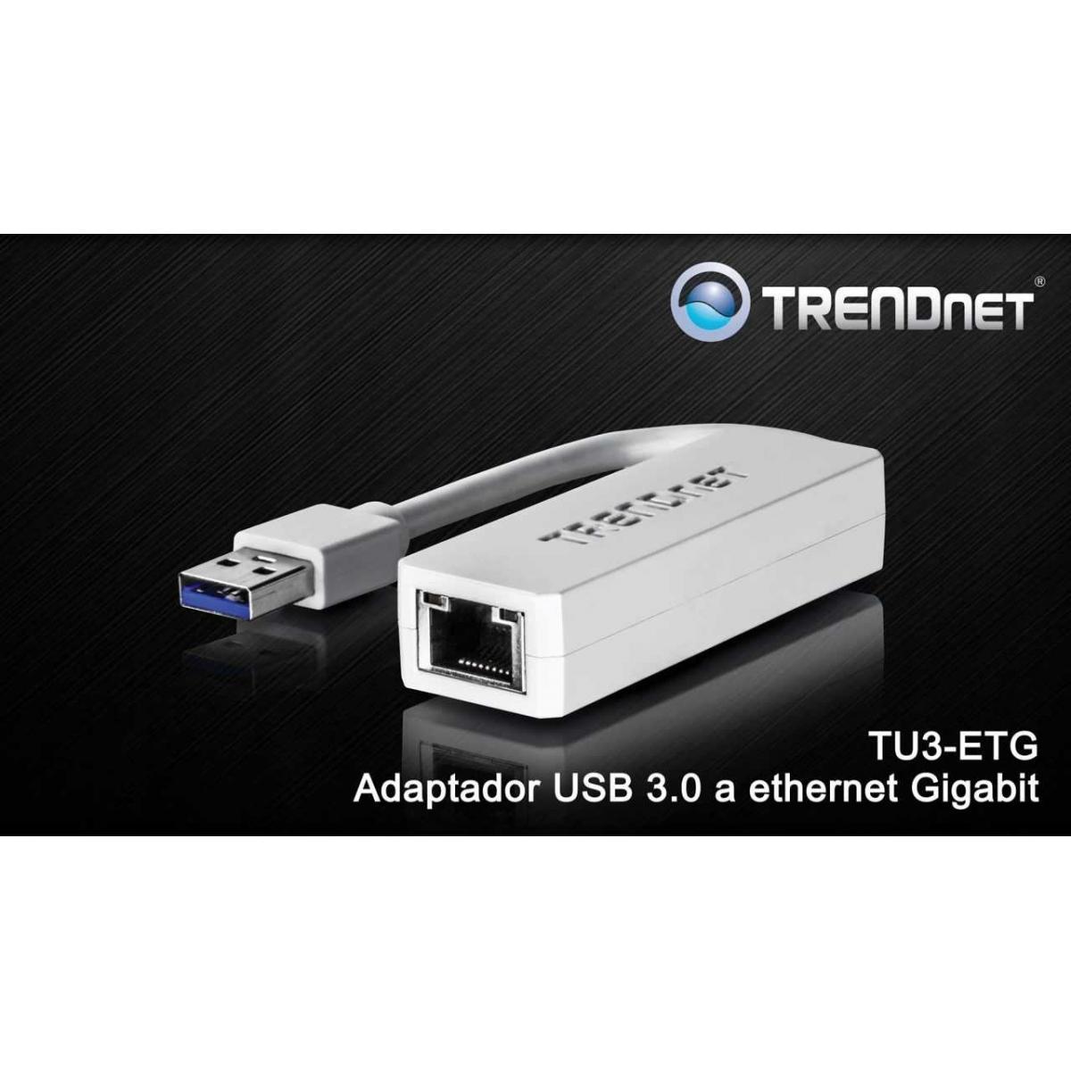 TRENDnet USB 3.0 to Gigabit Ethernet Adapter Model TU3-ETG