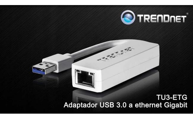 Trendnet USB 3.0 to Gigabit Ethernet Adapter