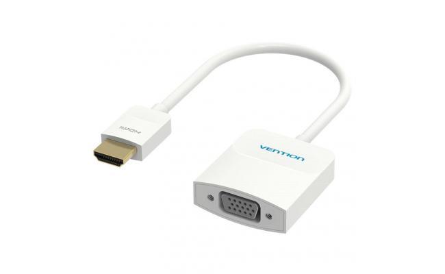Vention HDMI to VGA Converter 0.15M  White