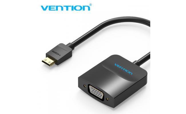 Vention Mini HDMI to VGA Conv W/Micro USB