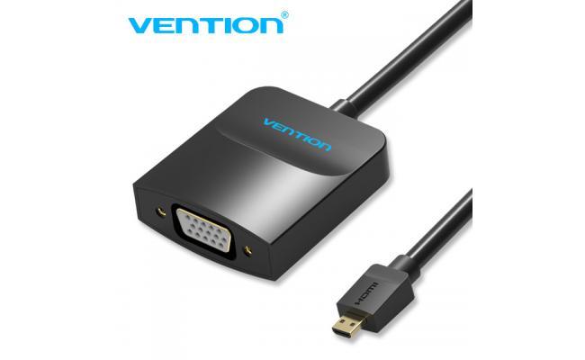 Vention Micro HDMI to VGA Conv W/Micro USB