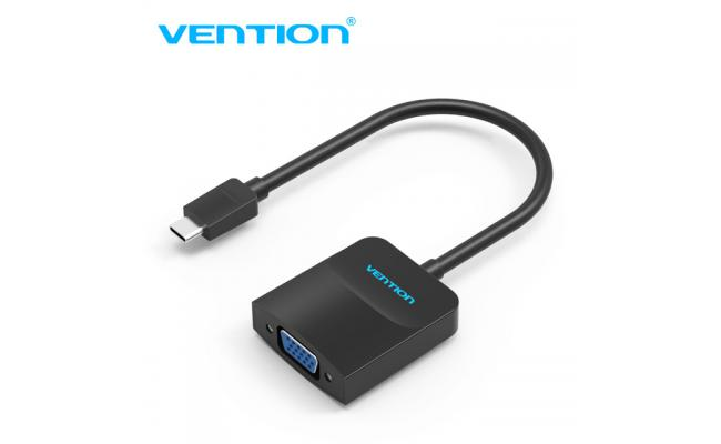 Vention Type-C to VGA Converter 0.15M