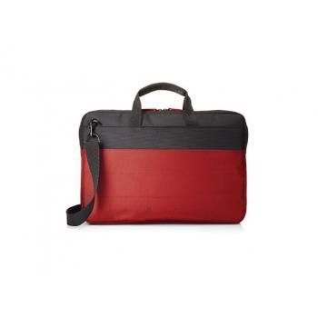 "HP 15.6"" Duotone Red Brief Case"
