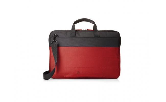 "HP 15.6"" Duotone Red Brief Case"
