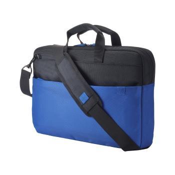 "HP 15.6"" Duotone Blue Brief Case"