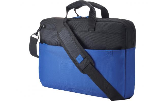 "HP 15.6"" Duotone Blue Brief Case"