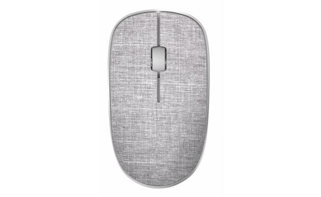 RAPOO MOUSE WIRELESS FABRIC 3510 PLUS - GREY