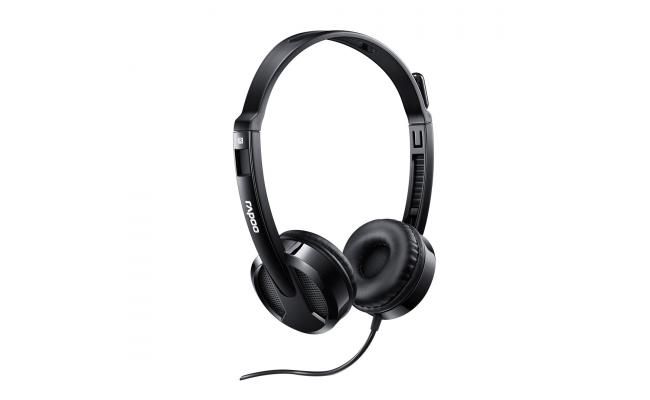 RAPOO HEADSET WIRED STEREO H100 PLUS