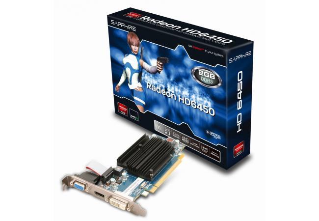 SAPPHIRE AMD RADEON 2GB DDR3