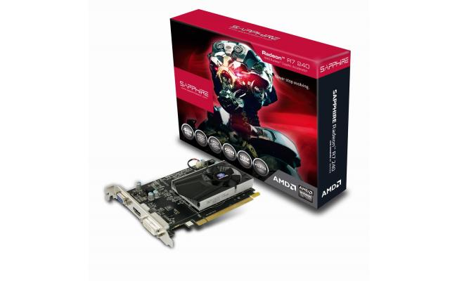 SAPPHIRE AMD RADEON 4GB DDR3